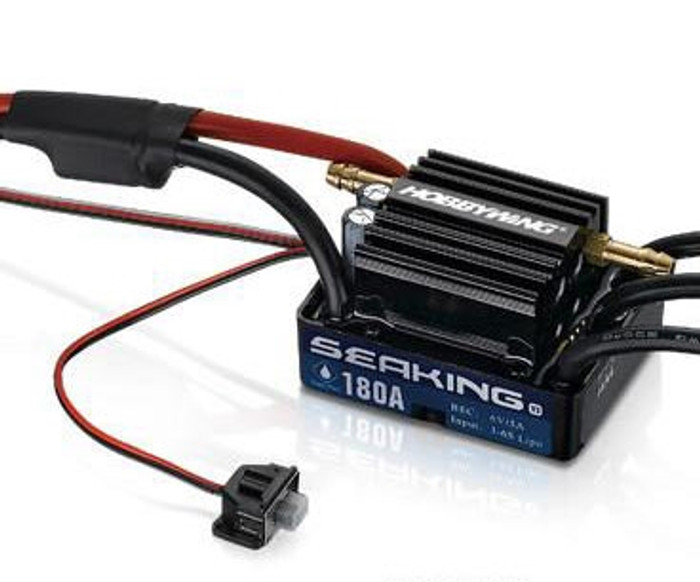 Hobbywing Seaking 180A V3 Waterproof ESC, 30302400