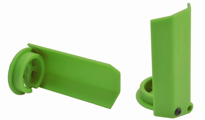 RPM Green Shock Shaft Guards for Traxxas X-Maxx, 80434