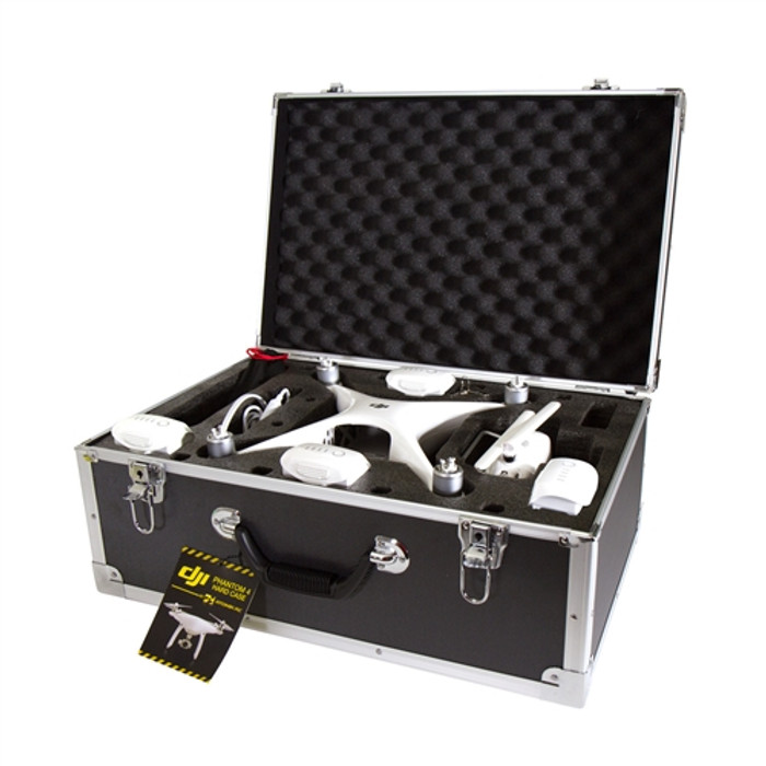 Atomix DJI Phantom 4 Drone Hard-Sided Carrying Case, 8009
