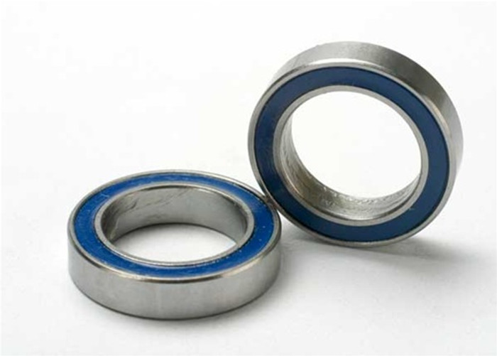 Traxxas Ball Bearings (12x18x4mm, blue rubber sealed), 5120