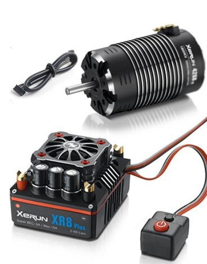 Hobbywing XR8 Plus ESC Combo w/Xerun 4268 SD G2 2600kv Motor, 38020406