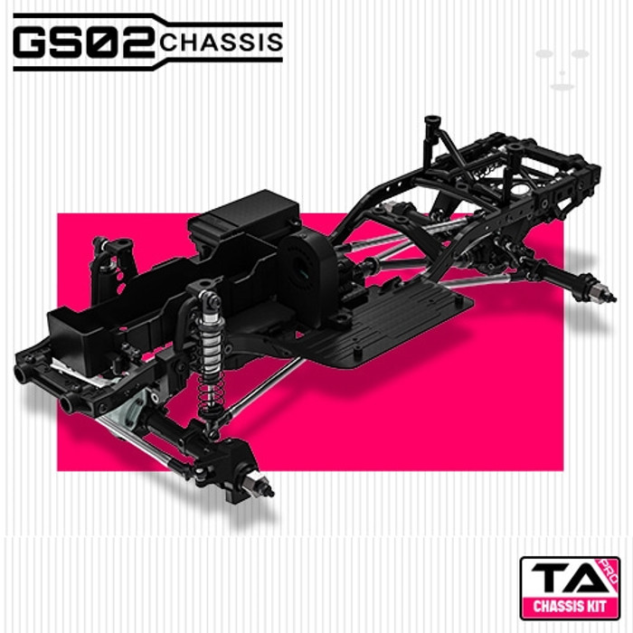 Gmade 1/10 GS02 TA Pro Chassis Kit, 57001
