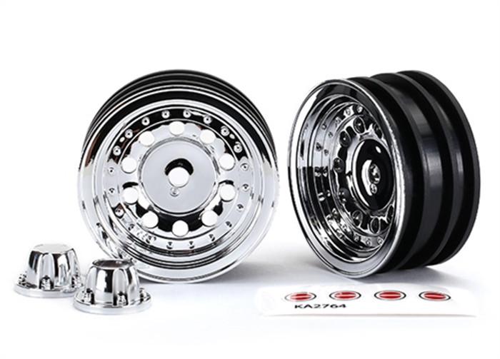 Traxxas Chrome 1.9 Wheels for TRX-4 Ford Bronco, 8175