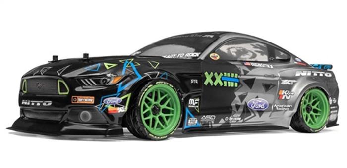 HPI Racing RS4 Sport 3 Vaughn Gitten Jr Ford Mustang 1/10, 115984