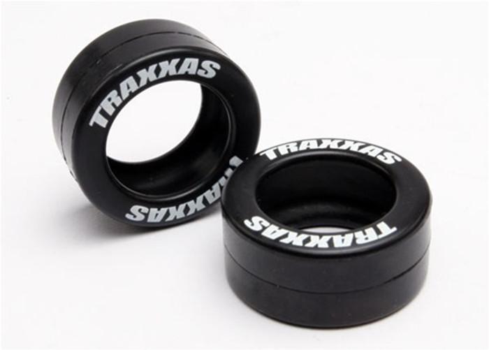 Traxxas Rubber Tires for Wheelie Bar Wheels, 5185