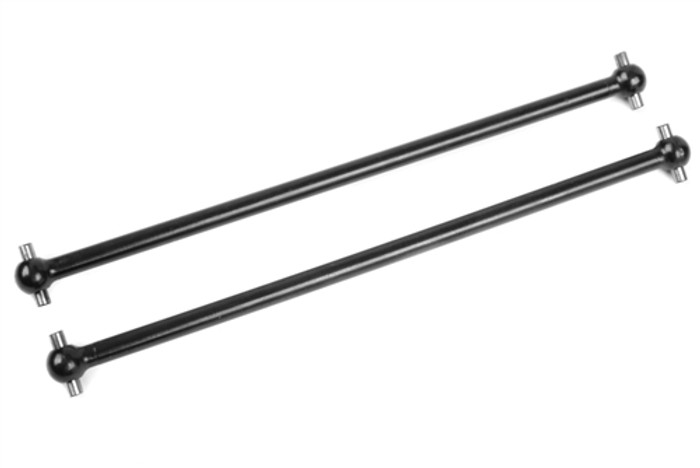 Team Corally Long Rear Steel Dogbones - 1/8, C-00180-367