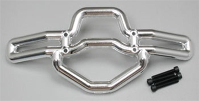 RPM Front Bumper for the Traxxas T/E-Maxx - Chrome, 80103