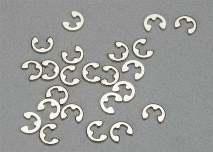Traxxas E-clips, 1.5mm (24), 5150