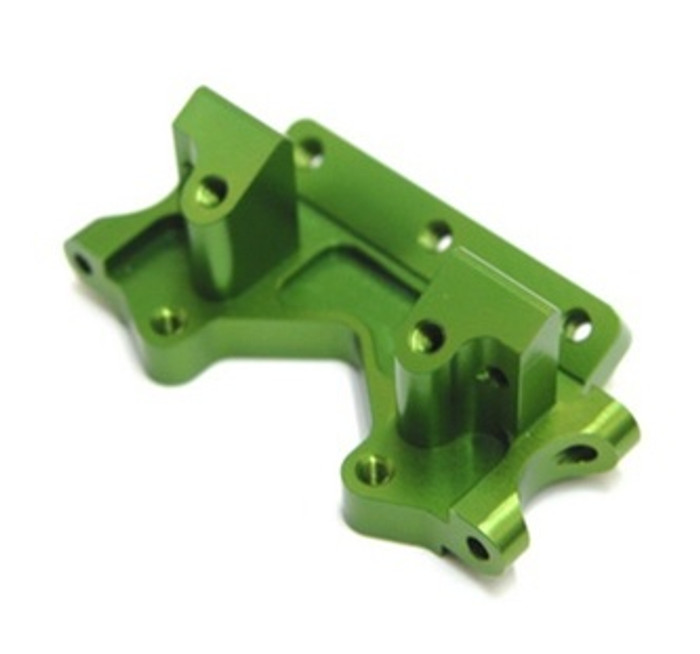 ST Racing Concepts Aluminum Front Bulkhead for Traxxas Stampede, Rustler, Bandit, Slash 2WD (Green), 2530G