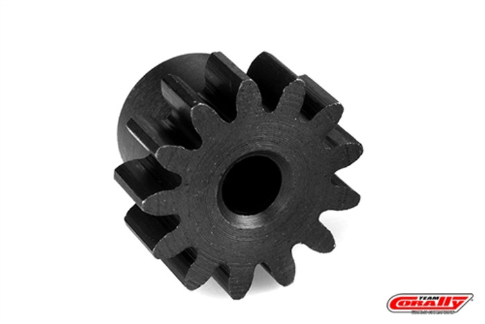 Team Corally 13-Tooth Steel Short Pinion - 1/10 Mammoth, Moxoo, Triton, C-71513-R