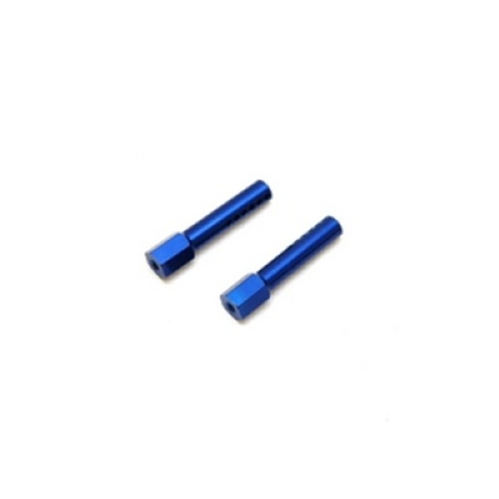 ST Racing Concepts Aluminum Front Body Posts for Traxxas Slash/Rustler/Stampede (Blue), 1914B