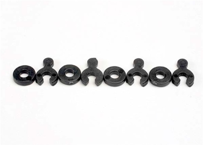 Traxxas Caster Spacers w/shims, 5134