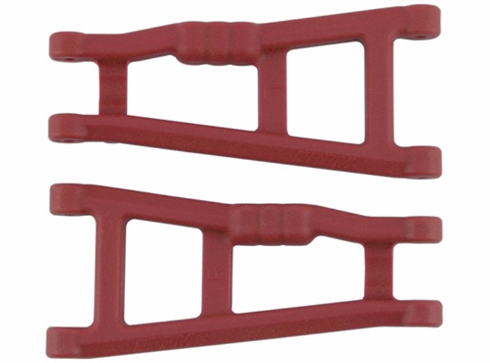 RPM Rear A-Arms for Traxxas Electric Stampede 2WD and Rustler - Red, 80189