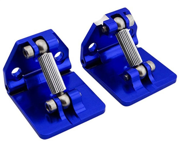 Hot Racing CNC Aluminum Adjustable Trims Tabs for Traxxas Spartan Boat