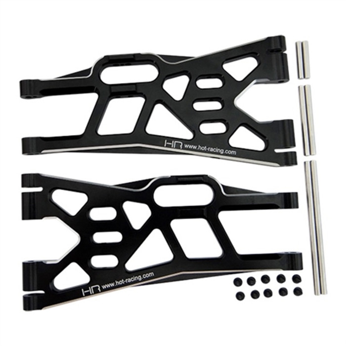 Hot Racing Aluminum Sway-Bar-Ready Lower Arm for Traxxas X-Maxx
