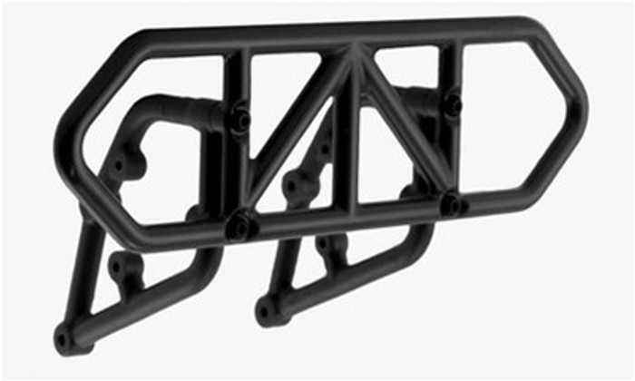 RPM Rear Bumper for Traxxas Slash 2WD - Black, 81002