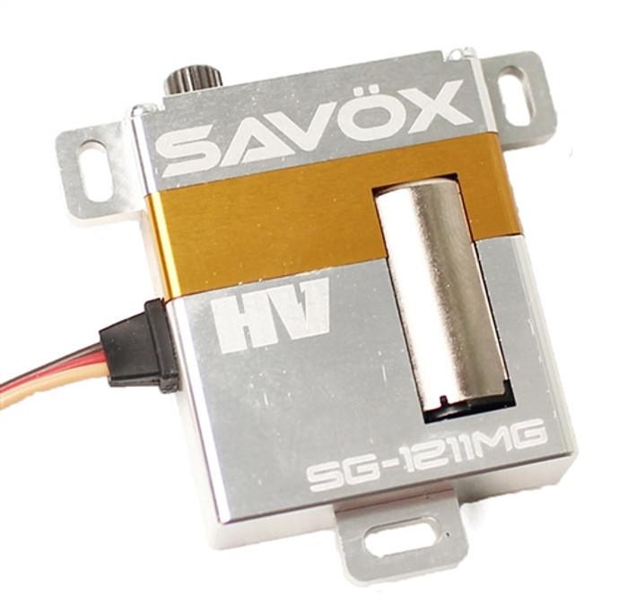 Savox SG-1211MG High Torque High Voltage Metal Case Digital Glider Servo