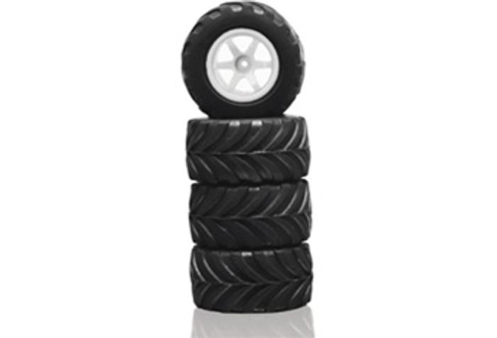 Megatech Megapro All Terrain Tires w/Rims (4)