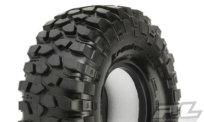 "Pro-Line BFGoodrich Krawler T/A KX 1.9"" Predator Super Soft Rock Terrain Truck Tires for Crawlers, 10136-03"
