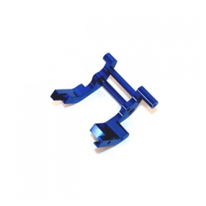 ST Racing Concepts Aluminum Rear Motor Guard for Traxxas Trucks (Blue), 3677B