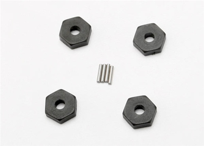Traxxas Wheel Hubs Hex w/Axle Pins, 7154