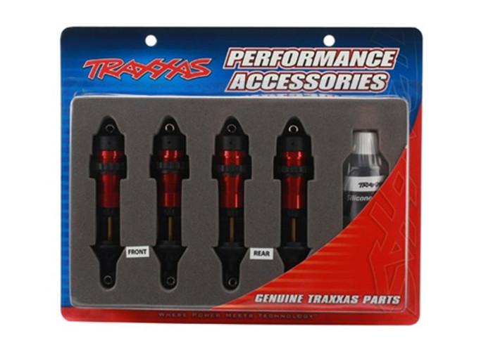 Traxxas Aluminum GTR Shocks Red, 5460R