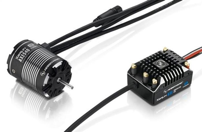 Hobbywing XeRun AXE 540-FOC 2300KV Motor and AXE FOC ESC V1.1 Combo, 38020253