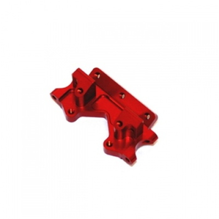 ST Racing Concepts Aluminum Front Bulkhead for Traxxas Stampede, Rustler, Bandit, Slash 2WD (Red), 2530R
