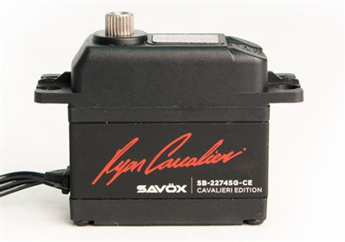 Savox SB2274SG-CE Ryan Cavalieri Edition HV Brushless Digital Servo
