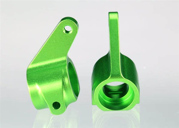 Traxxas Aluminum Steering Blocks (Green), 3636G