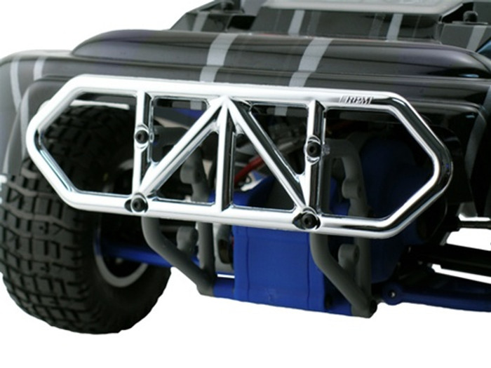 RPM Rear Bumper for Traxxas Slash 2WD - Chrome, 81003