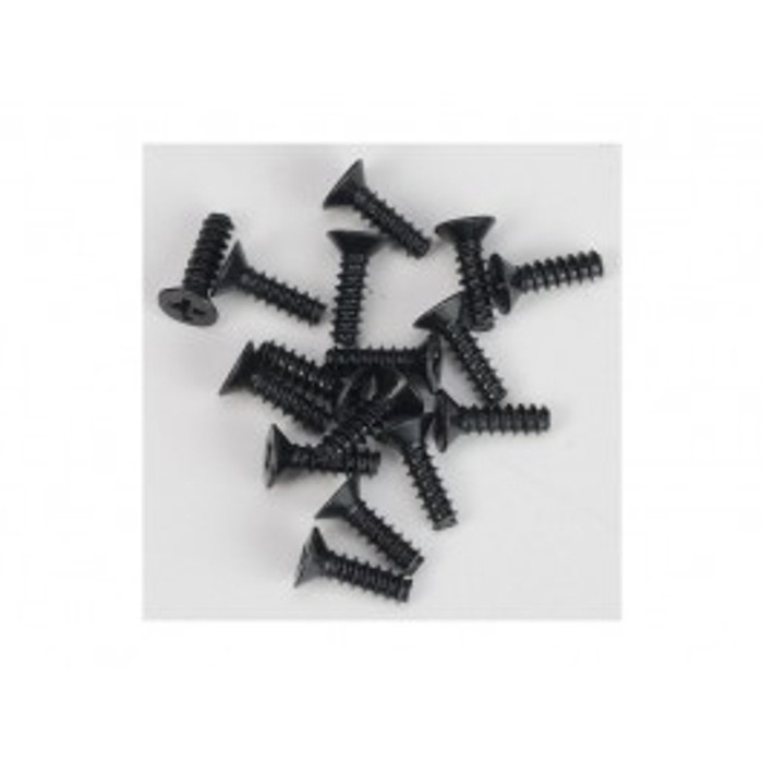 DHK 3x10mm FH Screw Coarse Thread (16pcs), 8381-012
