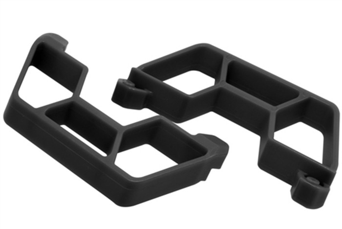 RPM Nerf Bars for Traxxas LCG Slash 2WD - Black, 73862