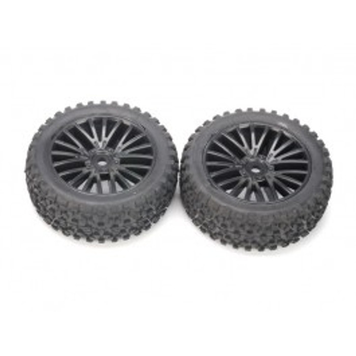 DHK Front Tires Mounted for Wolf Buggy, 8131-013