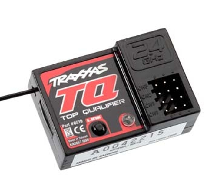 Traxxas Micro Receiver for TQ 2.4GHz Radio (3-Ch), 6519