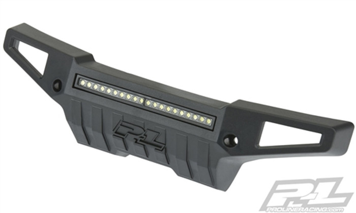 "Pro-Line PRO-Armor Front Bumper with 4"" LED Light Bar for X-Maxx, 6342-01"