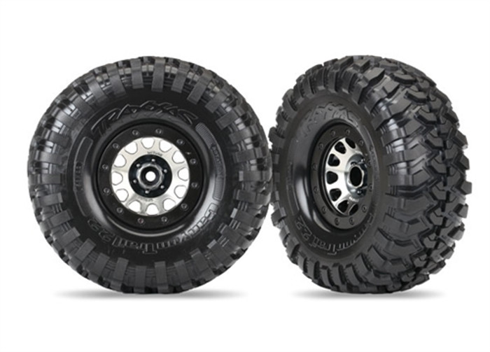 "Traxxas Canyon Trail Tires on Method 105 2.2"" Wheels for TRX-4, 8172"