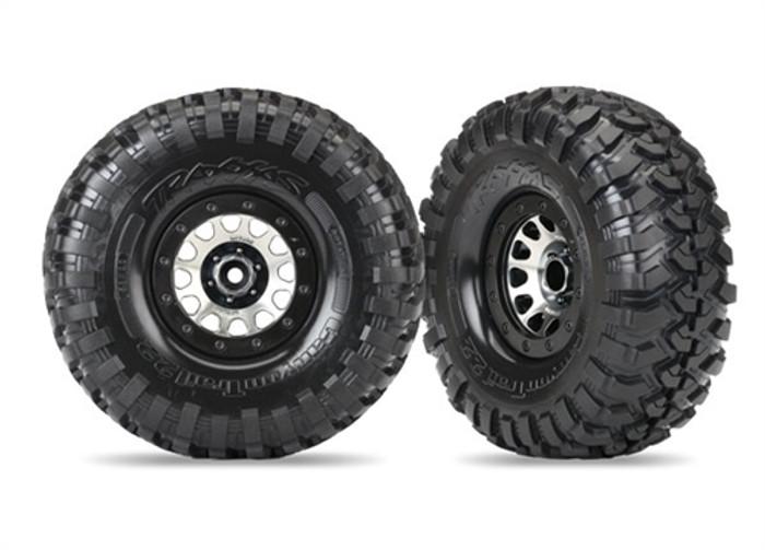 "Traxxas Canyon Trail Tires on Method 105 2.2"" Wheels for TRX-4, 8172"