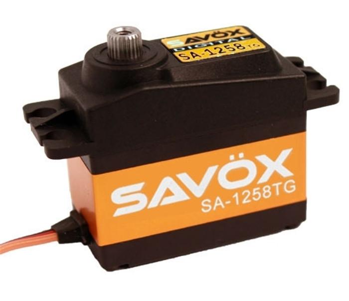 Savox SA-1258TG Super Speed Titanium Gear Digital Servo
