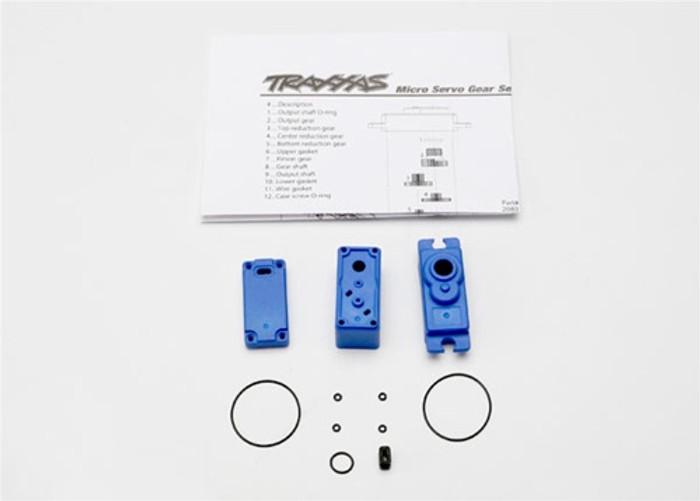 Traxxas Servo Case/Gaskets for 2080 VXL Servo, 2081