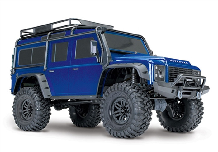 Traxxas TRX-4 Scale and Trail Crawler Defender - Blue, 82056-4