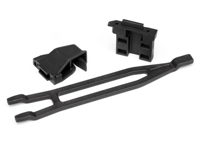Traxxas Battery Hold Downs Tall for 1/10 Rally VXL Car, 7426X
