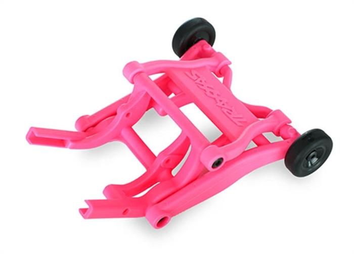 Traxxas Pink Assembled Wheelie Bar, 3678P