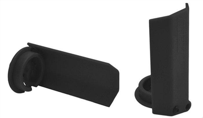 RPM Black Shock Shaft Guards for Traxxas X-Maxx, 80432