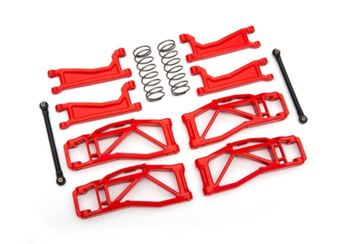 Traxxas Red WideMaxx Kit for Maxx 4S, 8995R