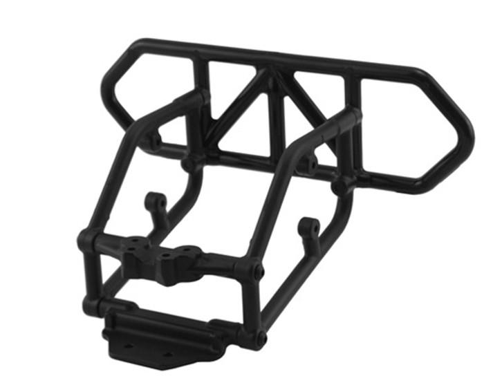 RPM Rear Bumper for Traxxas Slash 4X4 - Black, 80122