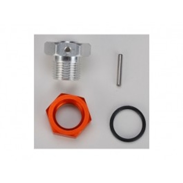 DHK 17mm Hex Adapter and Nut for Optimus Models, 8381-711