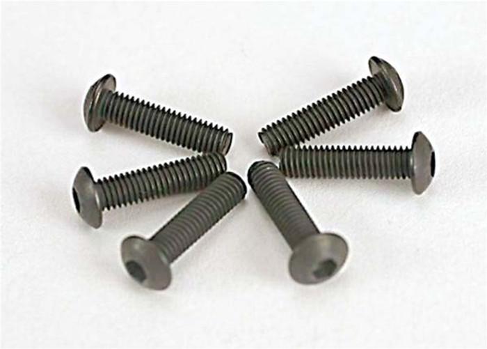 Traxxas Button-Head Machine Screws, 3x12mm, 2578