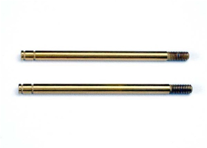 Traxxas Shock Shafts (titanium nitride coated, X-long), 2765T