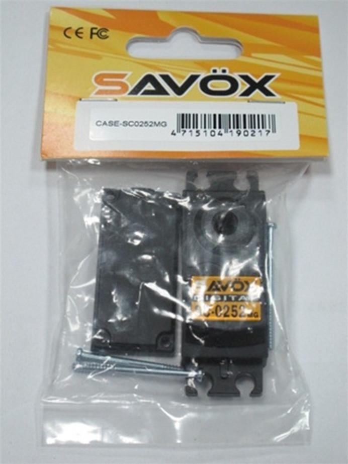Savox CSC0252mg Digital Servo Case for SC0252mg